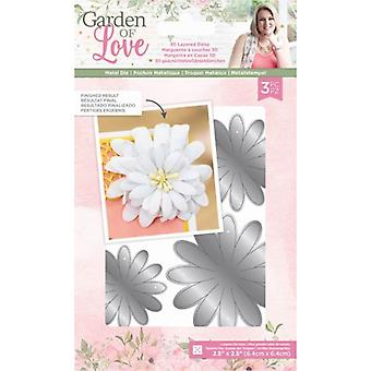 Crafter's Companion Garden of Love 3-D Layered Daisy Dies