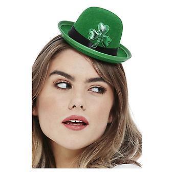 Női Paddy's Nap Mini Bowler Hat