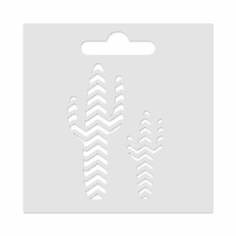 Aladine Mini Stencil Kaktus