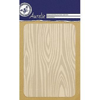 Aurelie texturou dřevo pozadí reliéfní složka