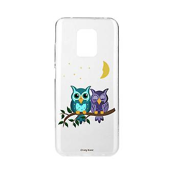 Scafo per Xiaomi Redmi Note 9 Pro Soft Owls In Moonlight