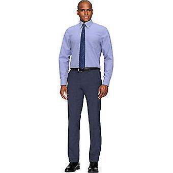 BUTTONED DOWN Men's Classic Fit Bouton-Collar Non-Iron Dress Shirt (Pocket), ...