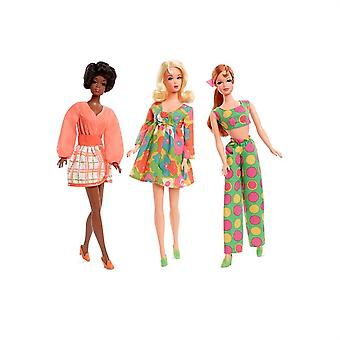 Barbie, Stacey And Christie Mod Doll Set Reproduction