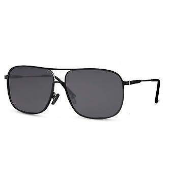 النظارات الشمسية الرجال بانتو كامل الحافة cat.3 أسود / أسود