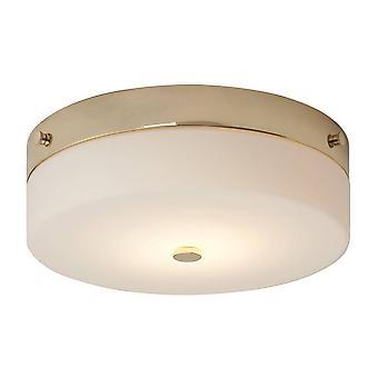 Elstead Tamar - 1 luz de lavado grande ligera - oro pulido