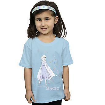 Disney Girls Frozen 2 Elsa Make Today Magic t-paita