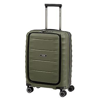 TITAN Destacado Business-Trolley S, 4 rollos, 55 cm, 42.0 L, Verde