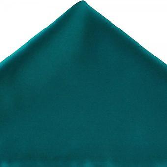 Ties Planet Plain Teal Green Pocket Square Handkerchief