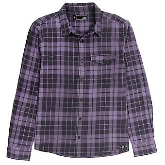 Lost lifted flannel shirt - vintage purple