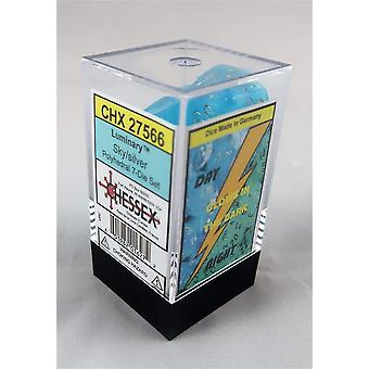 Poly 7 Set Luminary Sky with Silver