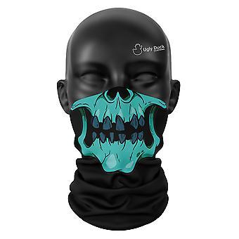 Zombie Schädel Halloween Gesichtsmaske Unisex Snood Kopf Schal Hals Gaiter Wrap Buff