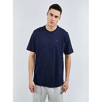 Russell Athletic Baseliners Short Sleeve T-Shirt - Navy