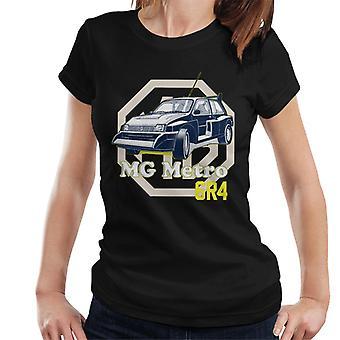 MG Metro 6R4 Brittiska Motor Heritage Kvinnor's T-Shirt