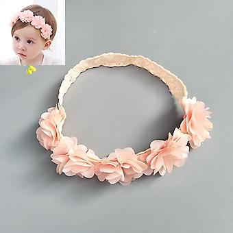 Baby Headband, Flower Bows -sweet Hair Bands