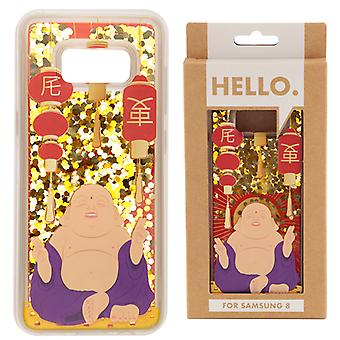 Samsung 8 Phone Case - Lucky Buddha Design