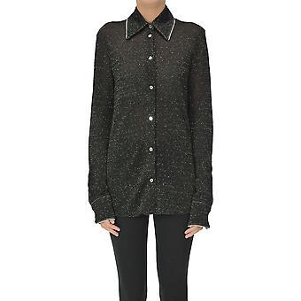 Acne Studios Ezgl151079 Damen's schwarz Viskose Shirt