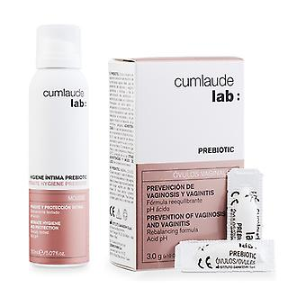 Prebiotic ovules + intimate hygiene prebiotic mousse 10 ovules + 150 ml