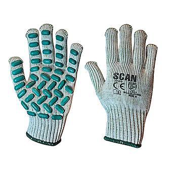 Scan trillingsbestendige Latex Foam Handschoenen - Medium (maat 8)