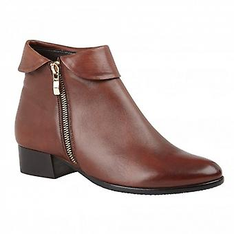 Lotus Maggie Ladies Leather Ankle Boots Tan