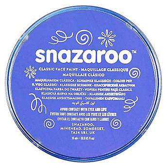 Snazaroo Halloween Fancy Dress Accessories - Classic Colours Water Based Face & Body Paint - Sky Blue 18ml