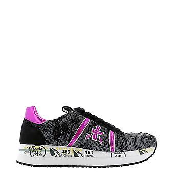 Premiata Conny4503 Women's Black Sequins Sneakers