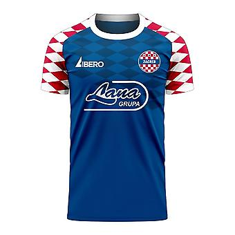 Dinamo Zagreb 2020-2021 Home Concept Football Kit (Libero) - Kids