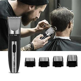 Low Noise Rechargeable Haircut Machine For Electric Shave Titanium Ceramic