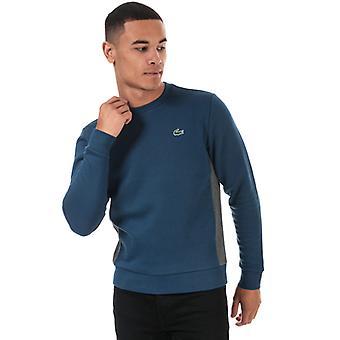 Heren's Lacoste Sweatshirt in Blauw