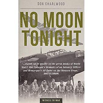 Geen maan vanavond