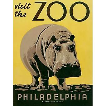 Visit the Zoo Poster Print by  Unknown