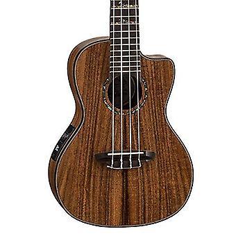 Luna ukulele concert koa high tide with preamp