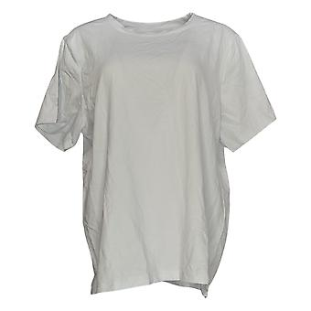 Linea by Louis Dell'Olio Women's Top Short Sleeve Tee White A225482