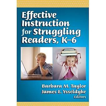 Tehokas opetus vaikeuksissa oleville lukijoille, K-6 (kieli ja lukutaito)