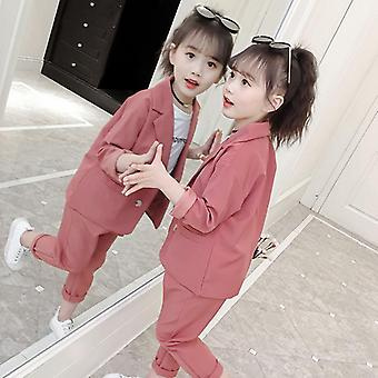 Girls Suit, Two-piece Set Clothing