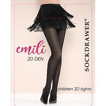 Emili 20 Den Black Tights