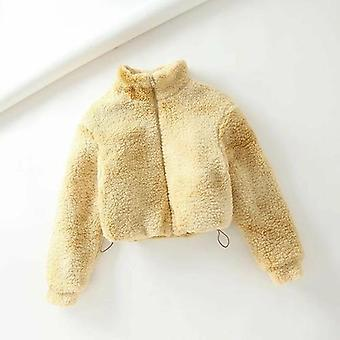 Cipzár vastagabb párnázott kabát kabát
