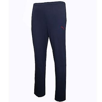 Puma Men's Essentials Tracksuit Bottoms Pants Joggers Jersey Navy 830376 03 A6B