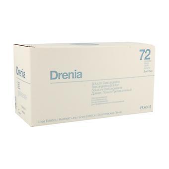 Drenia Decongestive Solution 72 ampoules