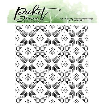 Picket Fence Studios Sweater Pattern Maker Clear Stamps