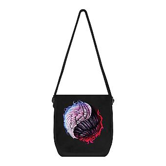 Unorthodox Collective Angelic Devil Yin Yang Messenger Bag