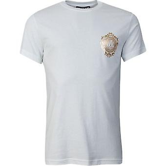 Versace Jeans Couture Chest Foil Logo Short Sleeved T-Shirt