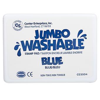 Jumbo Washable Stamp Pad, Blue