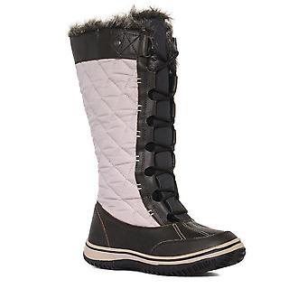 New Alpine Women's Brundall Waterproof Snow Boot Brown