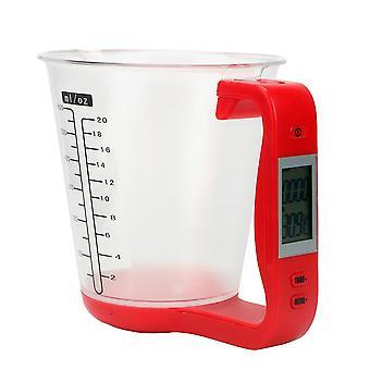 Vert veie temperatur måle kopper med lcd-skjerm