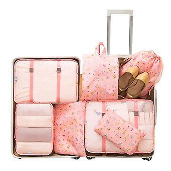 Matkalaukkujen pakkaaminen Matkajärjestäjä Vaatteet Säilytys Vedenpitävät Laukut