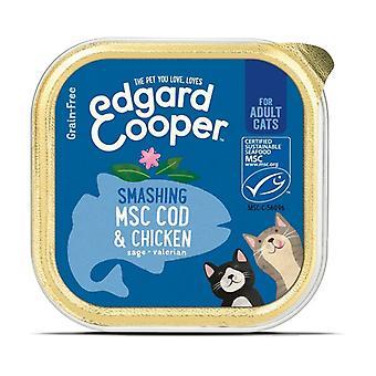 الدجاج والقد القطط حوض 85 غرام