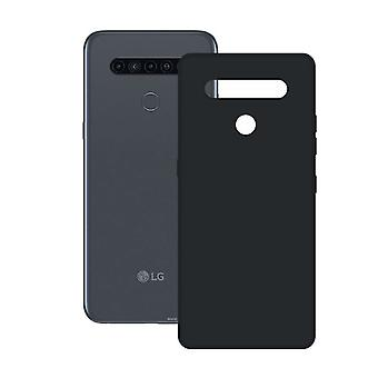 Mobile cover LG K41S Contact Silk TPU Black