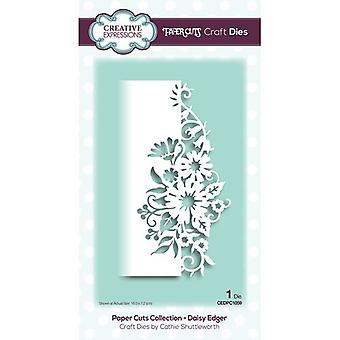 Creative Expressions Paper Cuts Collectie Cutting Dies - Daisy Edger