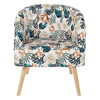 Nojatuoli Dekodonia Monivärinen Koivu Polyesteri (70 x 68 x 55 cm)