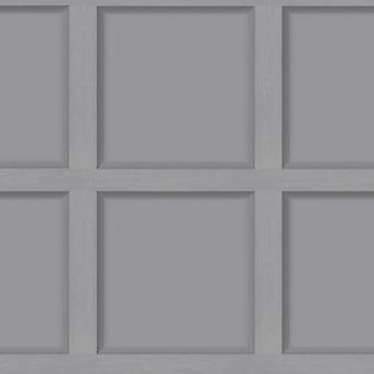 Moderne træpanel grå tapet